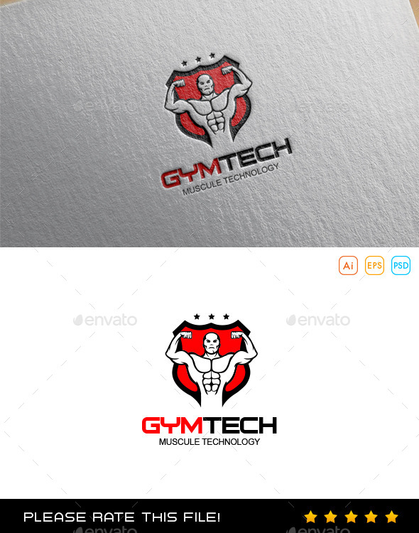 GraphicRiver Gym Logo 9967861