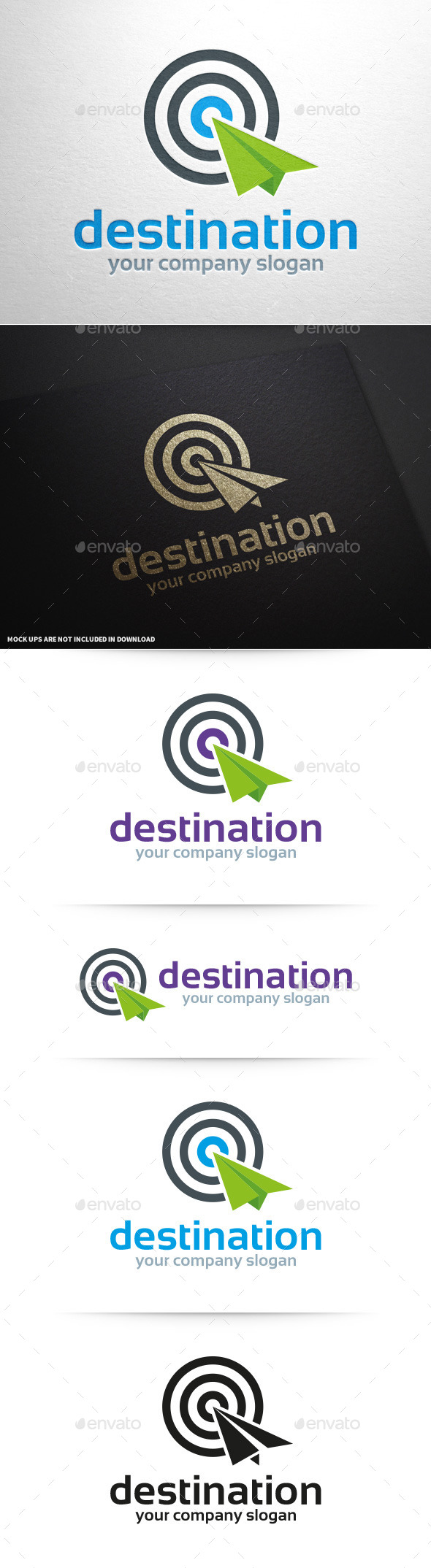 GraphicRiver Destination Logo Template 9968008