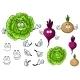 Vegetable Cartoons - GraphicRiver Item for Sale