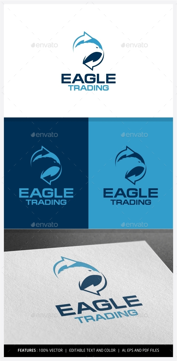 GraphicRiver Eagle Trading Logo 9968239