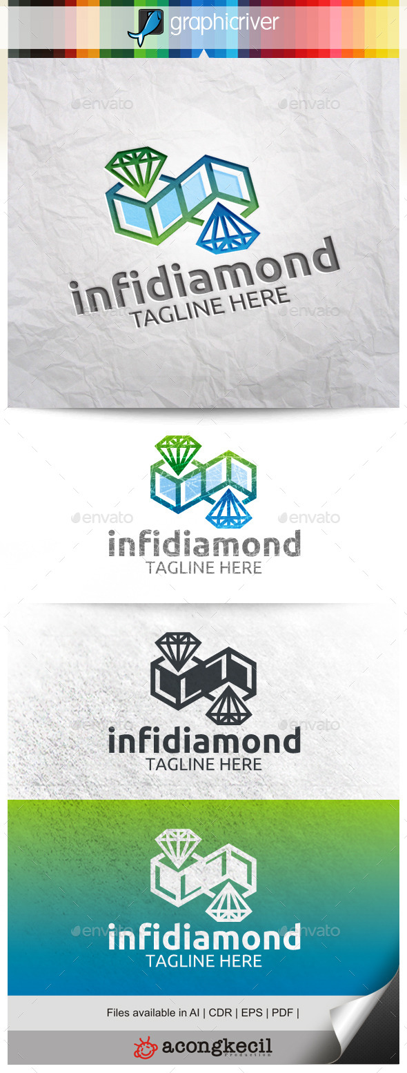 GraphicRiver Infinity Diamond 9968274