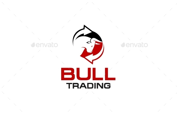 Bull Trading Logo by putracetol | GraphicRiver