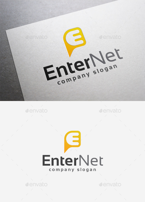 GraphicRiver Enter Net Logo 9968284