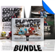 Playoff Football Flyer / Poster Template Bundle - GraphicRiver Item for Sale