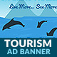 Tourism & Travel 2: Island HTML5 Ad Banner