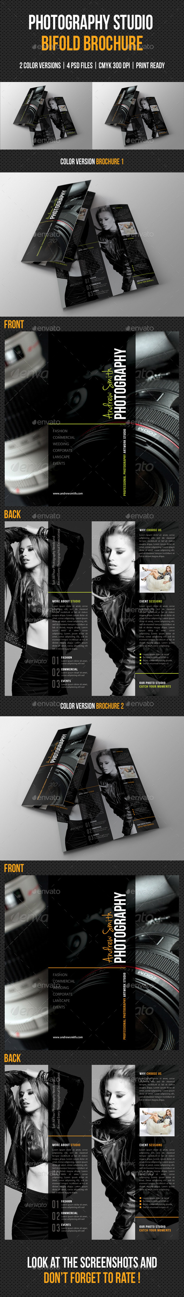 GraphicRiver Photography Studio Bifold Brochure 03 9971409