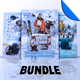 Winter Sports Flyer / Poster Template Bundle Vol 2 - GraphicRiver Item for Sale