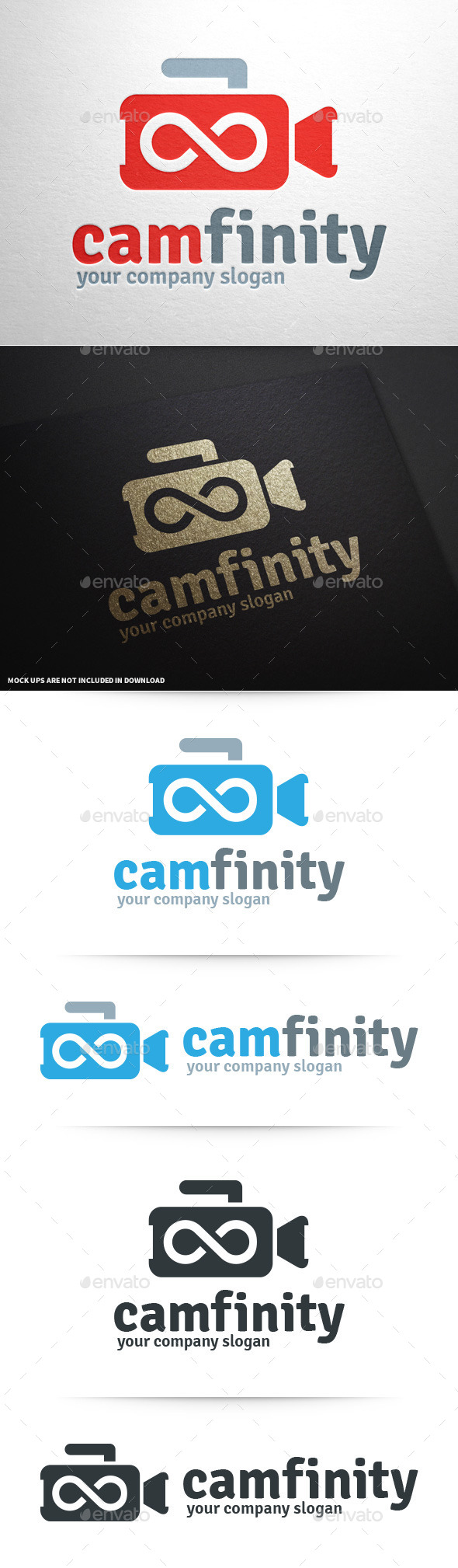GraphicRiver Camera Infinity Logo 9972349