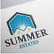 Summer Estates Logo - GraphicRiver Item for Sale