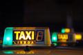 Lisbon Taxi Sign - PhotoDune Item for Sale