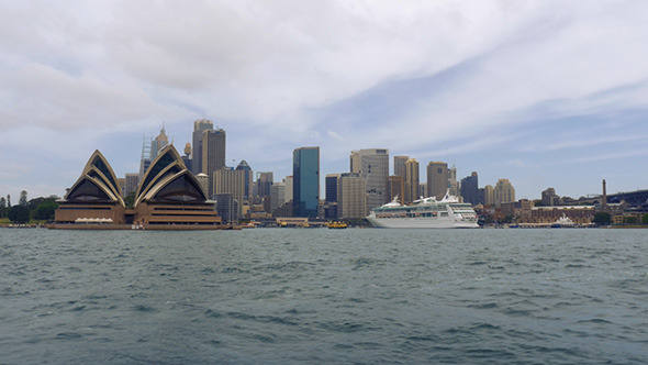Sydney Opera House and City from the Water