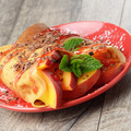 Crepe with peaches and chocolate - PhotoDune Item for Sale