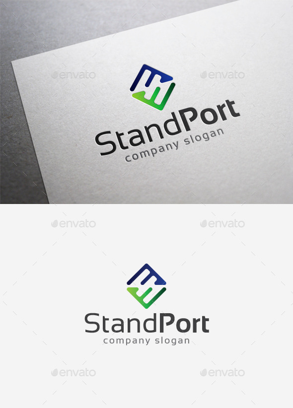 GraphicRiver Standport Logo 9976482