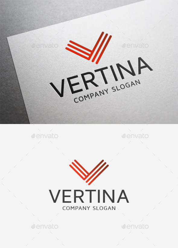 GraphicRiver Vertina Logo 9976521