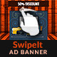 SwipeIt - Gallery HTML5 GWD Ad Banner