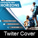 Travel Tour Twiter Cover - GraphicRiver Item for Sale