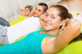 Adult people working in gym - PhotoDune Item for Sale