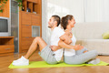 couple doing regular exercises together - PhotoDune Item for Sale