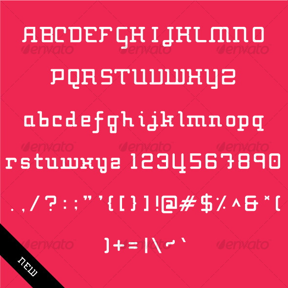 Techno Type - Futuristic Decorative