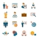 Management Icon Flat - GraphicRiver Item for Sale