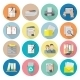 Document Icon Flat - GraphicRiver Item for Sale