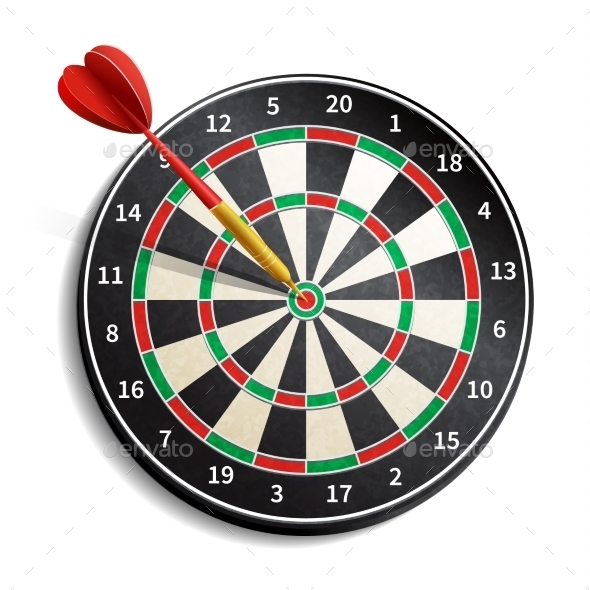 Dynamite image within printable dart board