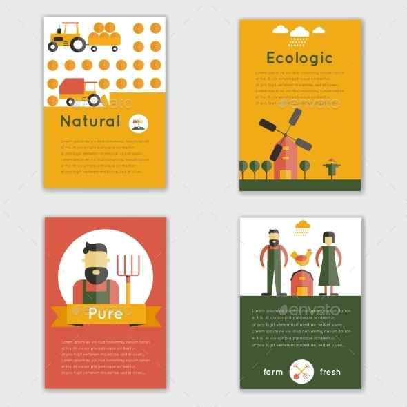 GraphicRiver Farm Fresh Brochure 9979157