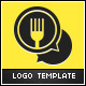 Food Talk Logo Template - GraphicRiver Item for Sale