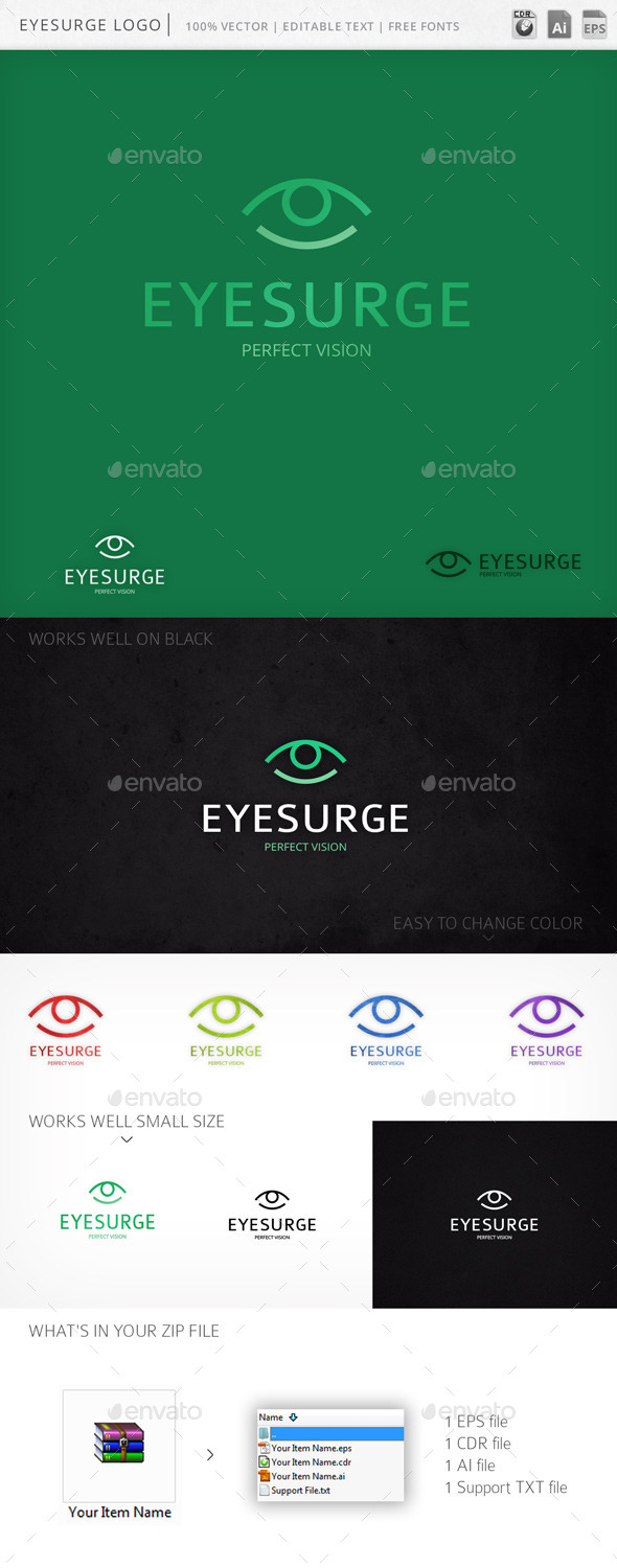 GraphicRiver Eyesurge Logo 9980238