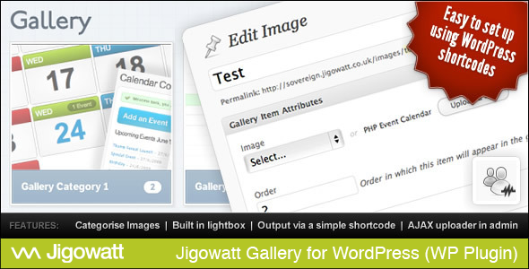 Jigowatt Gallery for WordPress