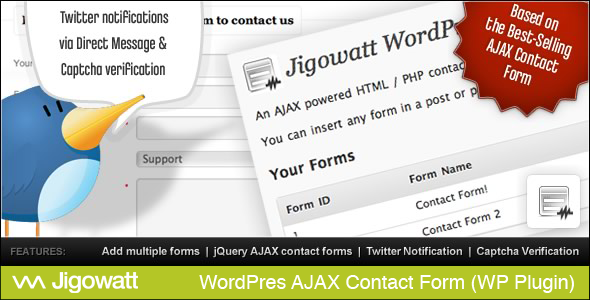 AJAX Contact Forms (for WordPress) - CodeCanyon Item for Sale
