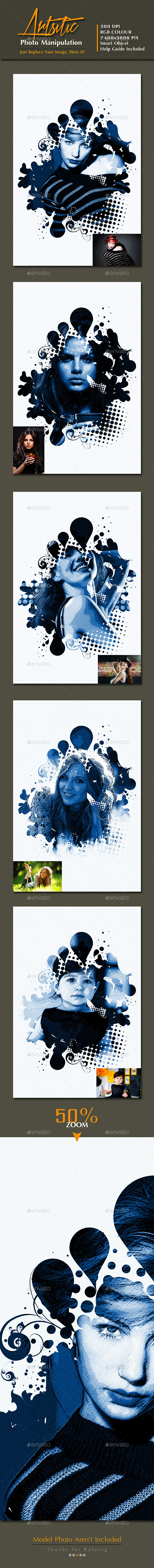 GraphicRiver Artistic Photo Manipulation vol 3 9981015