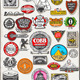 Thirty Three Vintage Symbols Set - GraphicRiver Item for Sale