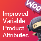 Improved Variable Product Attributes - WooCommerce - CodeCanyon Item for Sale