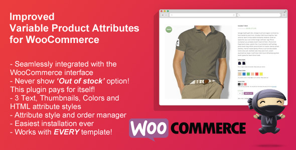 CodeCanyon Improved Variable Product Attributes WooCommerce 9981757