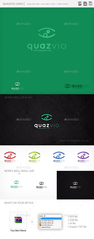 GraphicRiver Quazvio Logo 9982122