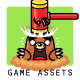 Moles Attack Game Assets - GraphicRiver Item for Sale