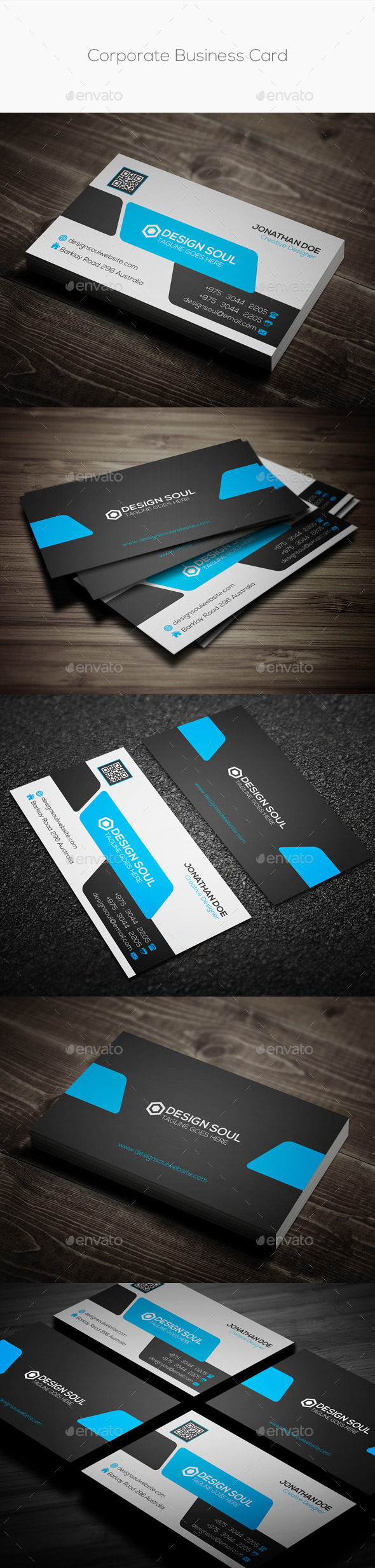 GraphicRiver Corporate Business Card 9982341