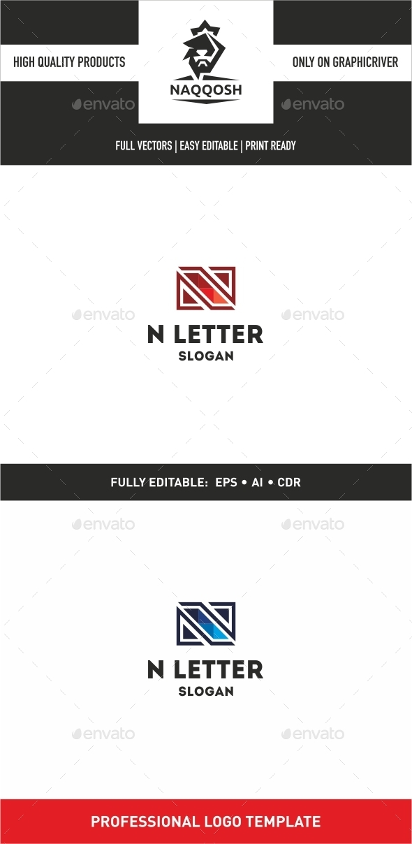 GraphicRiver N Letter 9982344