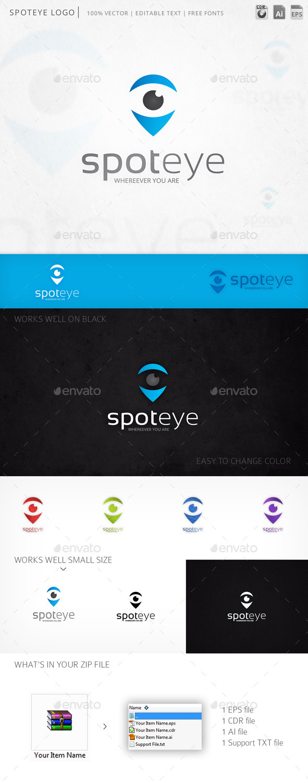GraphicRiver Spoteye Logo 9982349