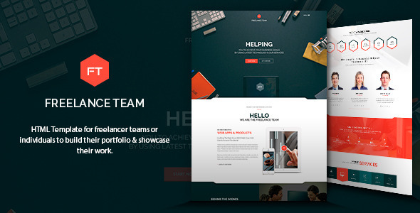 Freelance Team HTML Template