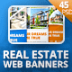 Real Estate Web Banner Set (45 PSD) - GraphicRiver Item for Sale