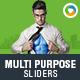 Multi Purpose Corporate Sliders - 2 Designs - GraphicRiver Item for Sale