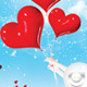 Flyer Happy Valentin Party - GraphicRiver Item for Sale