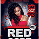 Red Code Night Party Flyer PSD Template - GraphicRiver Item for Sale