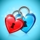 Two Heart Locks - GraphicRiver Item for Sale
