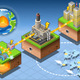 Isometric Infographic Geothermal Energy Harvesting - GraphicRiver Item for Sale