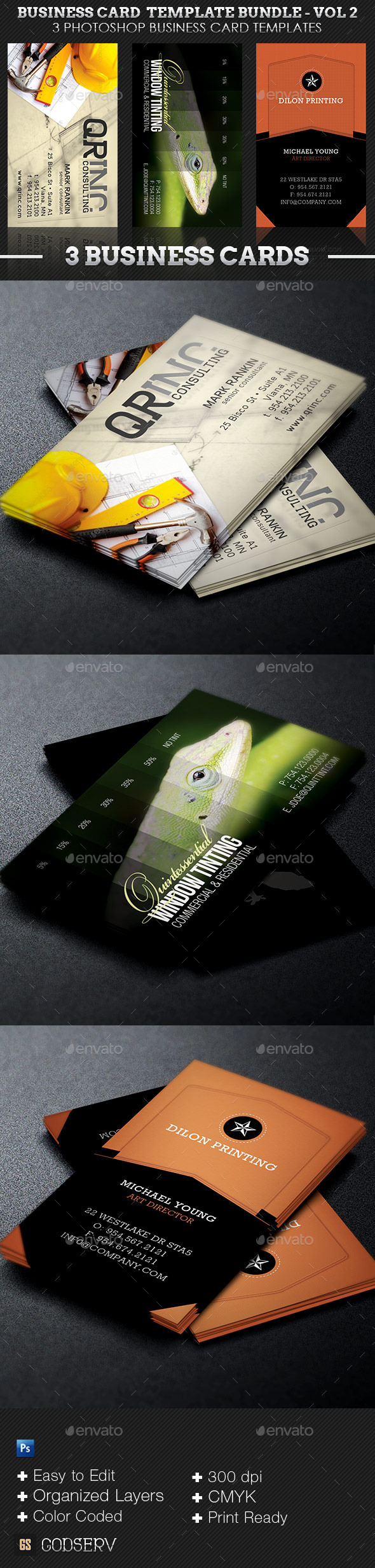 Business Card Template Bundle Volume 2