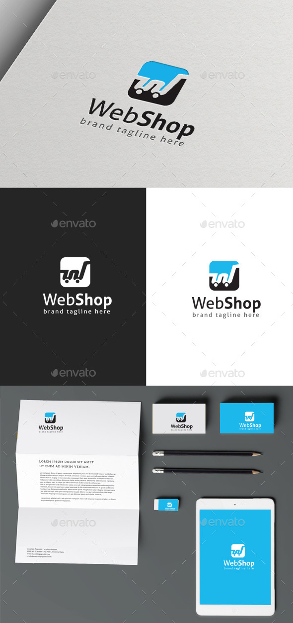 GraphicRiver Web Shop 9983637