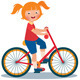 Child Riding a Bike - GraphicRiver Item for Sale